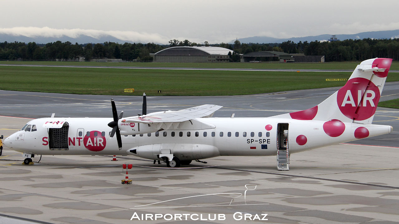 SprintAir ATR 72 Airportclub Graz