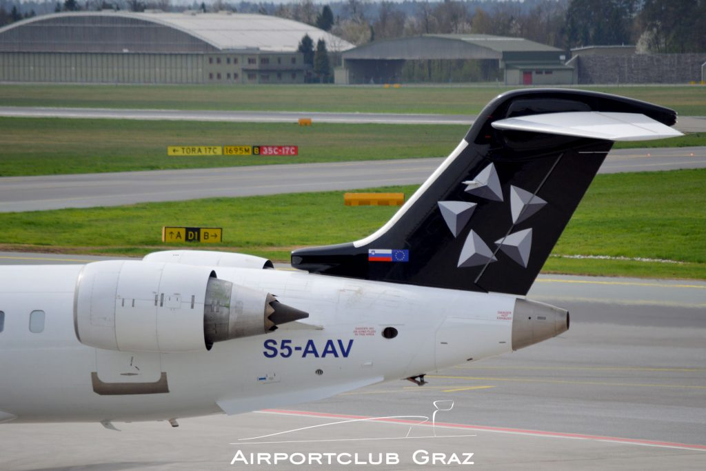 Adria Airways CRJ-900 S5-AAV