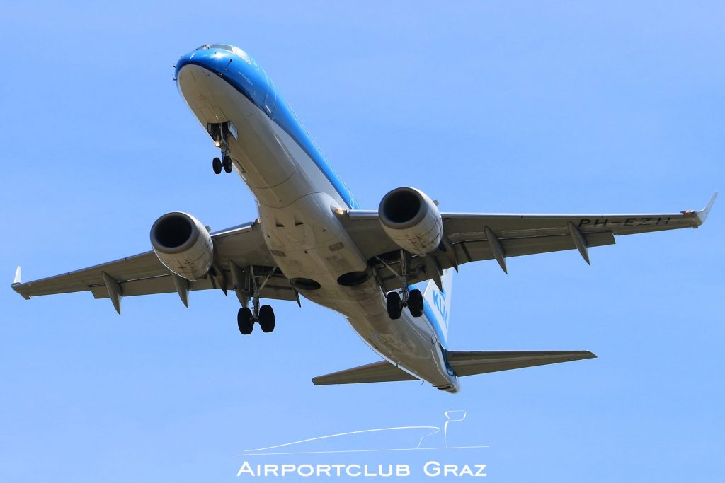 KLM Cityhopper Embraer 190 PH-EZH