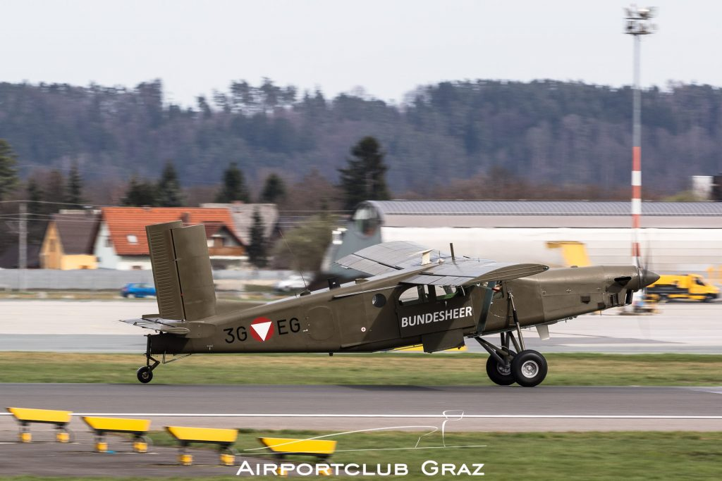 Bundesheer Pilatus PC-6/B2-H2 Turbo Porter 3G-EG