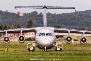 Swiss BAe 146 RJ 100