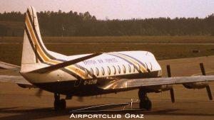 British Air Ferries Vickers Viscount 802