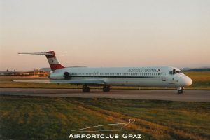 Austrian Airlines MD-82