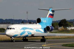 Tulpar Air Yakovlev Yak-42D
