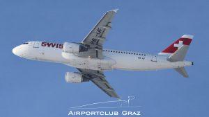 Swiss Airbus 320-214