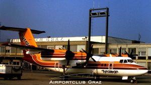 Tyrolean Airways Dash 7-102 OE-LLU