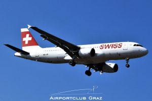 Swiss Airbus 320-214 HB-IJR