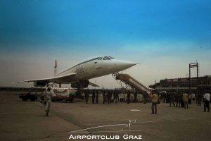 British Airways Concorde G-BOAC