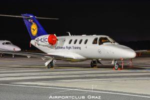 Lufthansa Flight Training Cessna 525 CitationJet 1 Plus D-ILHC