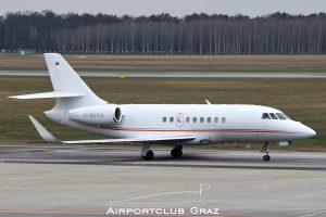 Viessmann Werke Dassault Falcon 2000LX D-BVHA