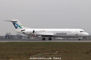 Avanti Air Fokker 100 D-AGPH
