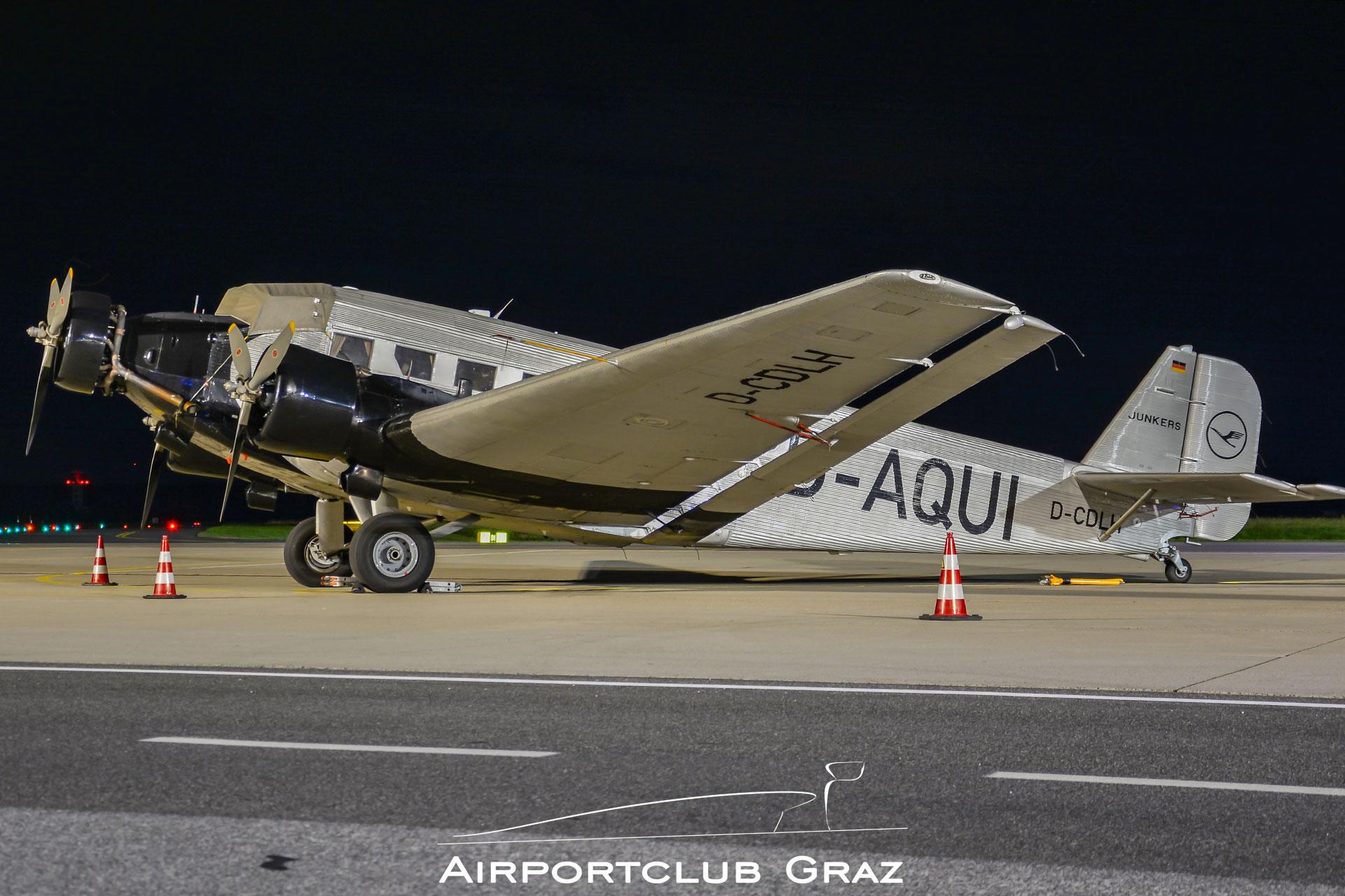 DLBS Junkers Ju 52/3m D-AQUI