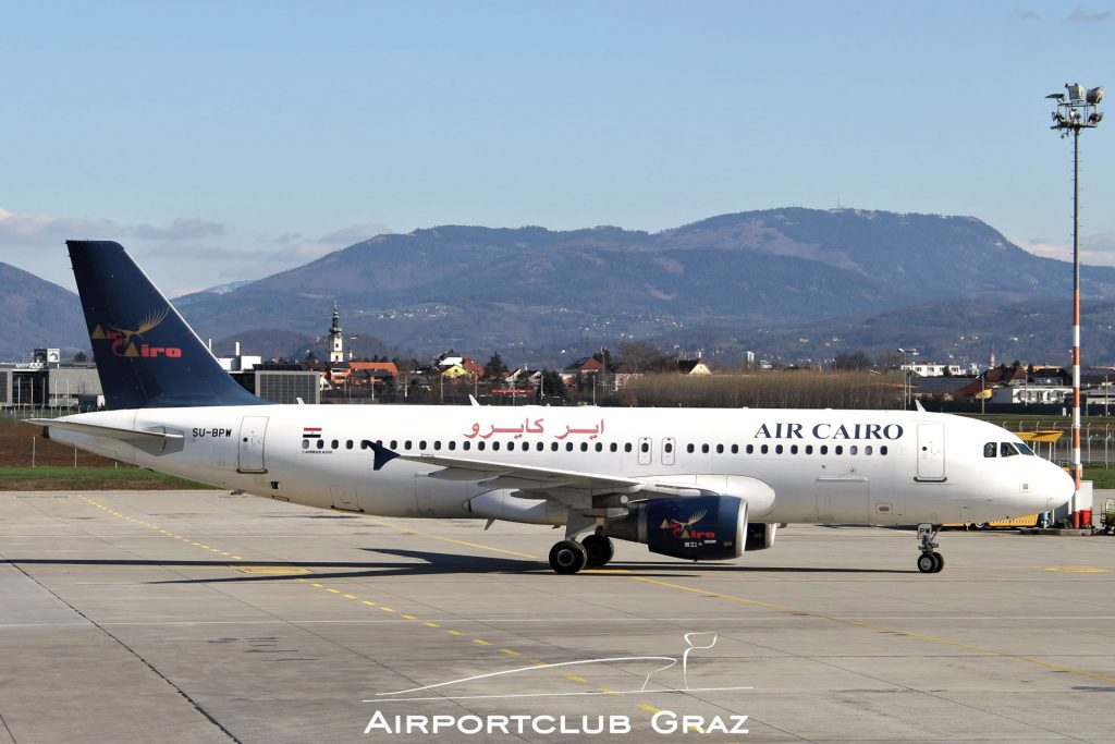 Air Cairo Airbus 320-214 SU-BPW