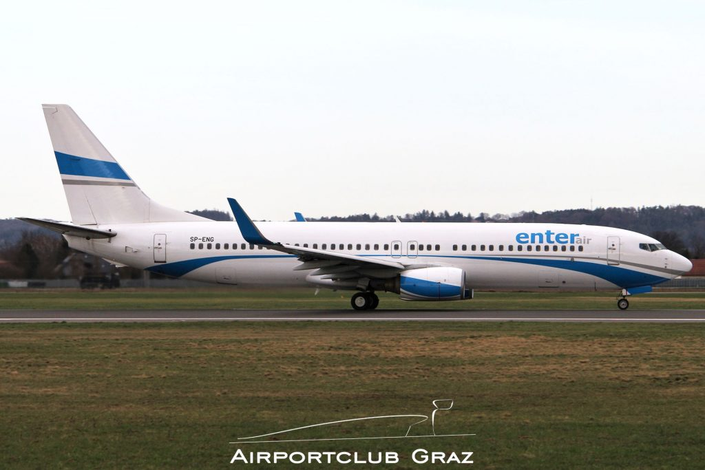 Enter Air Boeing 737-8CX SP-ENG