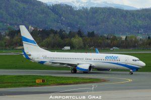 Enter Air Boeing 737-85R SP-ENQ