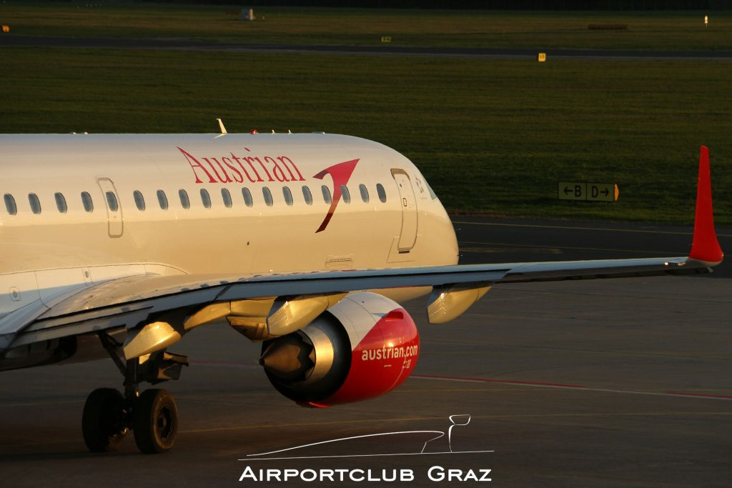 Austrian Airlines Embraer 195 OE-LWK