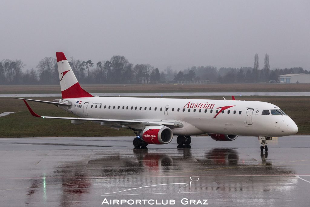 Austrian Airlines Embraer 195 OE-LWO