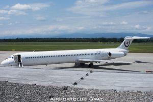 Medallion Air McDonnell Douglas MD-83 YR-HBE
