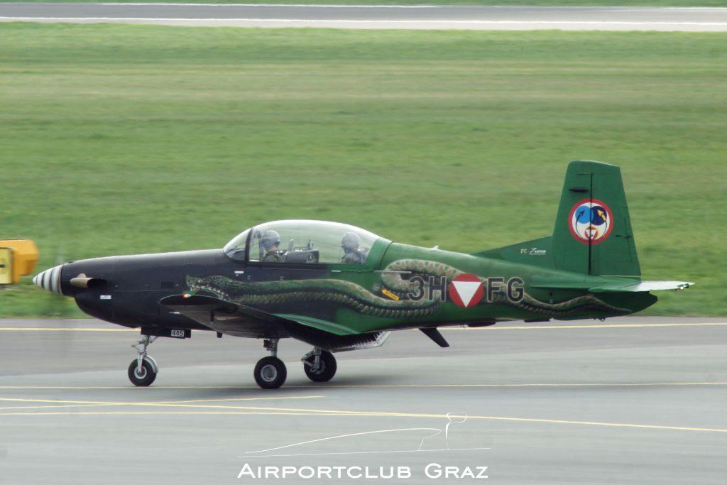 Bundesheer Pilatus PC-7 3H-FG