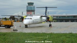 SkyWork Airlines Dash 8-402 HB-JIJ