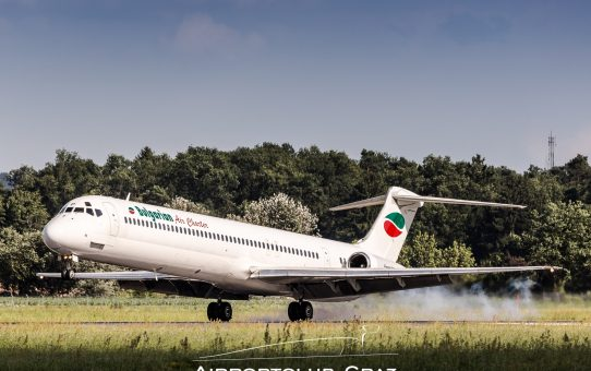 Sommerflugplan in Kraft