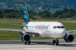Small Planet Airlines Airbus 320-214 LY-ONJ