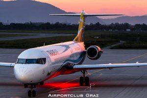Trade Air Fokker 100 9A-BTD