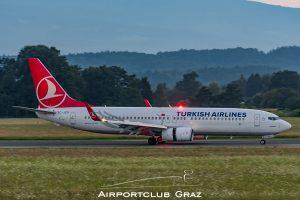 Turkish Airlines Boeing 737-8F2 TC-JZG