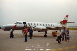 Austrian Airlines Fairchild Swearingen Metroliner OE-LSA