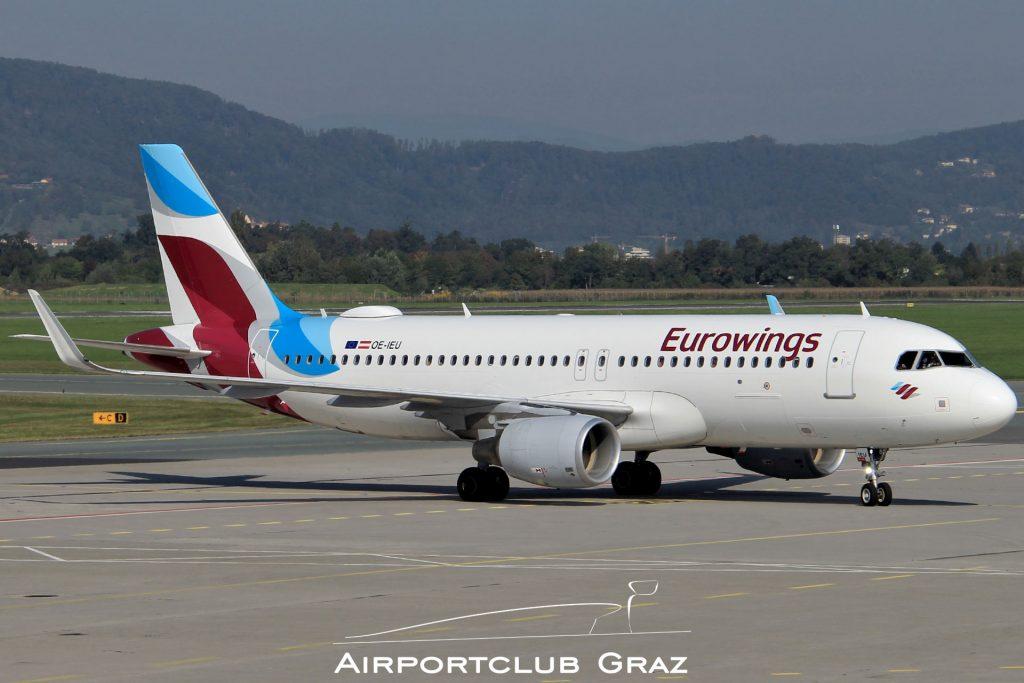 Eurowings Airbus 320-214 OE-IEU