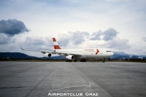 Austrian Airlines Airbus 340-212 OE-LAH