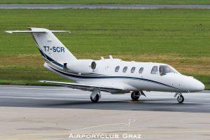 Cessna 525 Citation CJ1 T7-SCR
