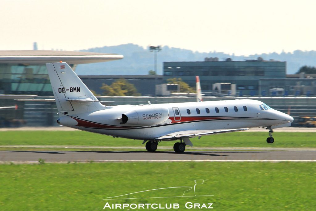 Magna Air Cessna 680 Citation Sovereign OE-GMM