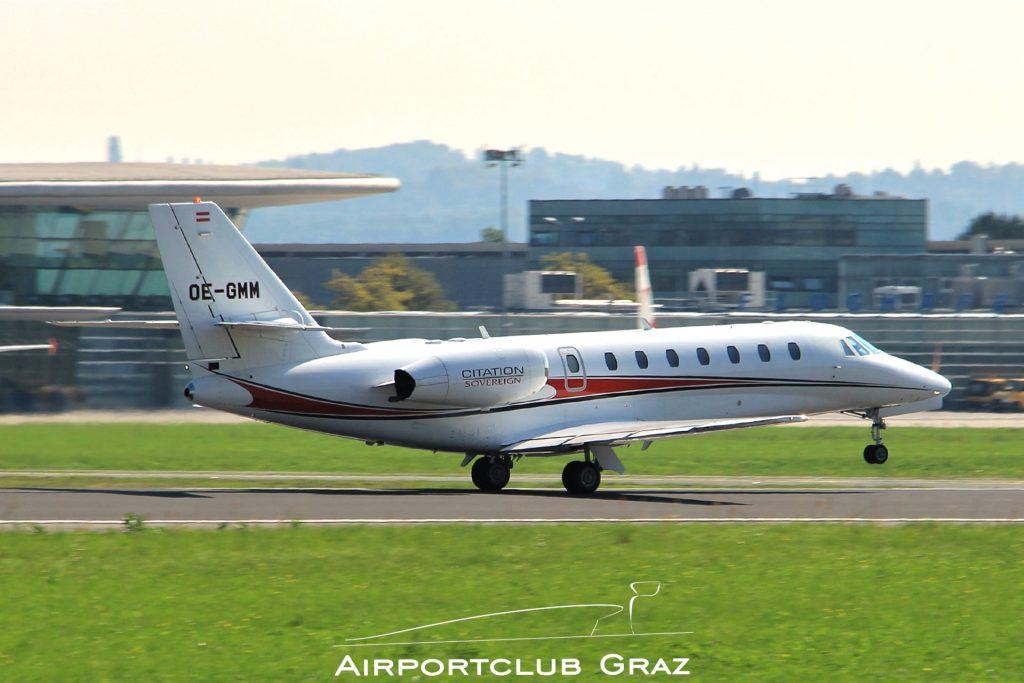 Magna Air Cessna 680 Citation Sovereign OE-GMM