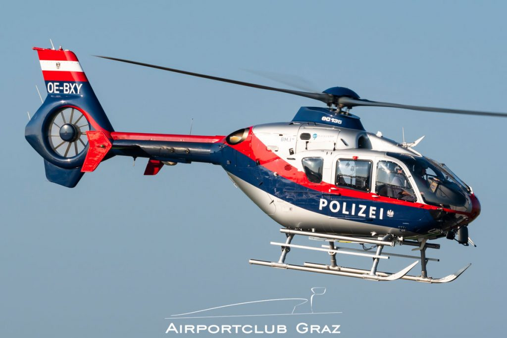 Flugpolizei Eurocopter EC 135P2 OE-BXY