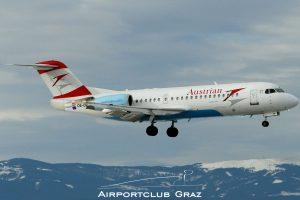 Austrian Airlines Fokker 70 OE-LFP