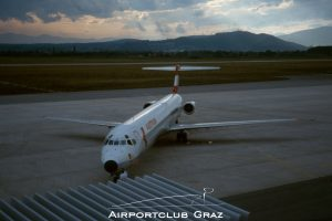 Austrian Airlines McDonnell Douglas MD-83 OE-LMD