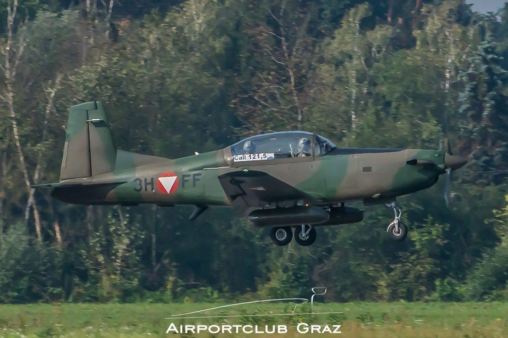 Bundesheer Pilatus PC-7 3H-FF