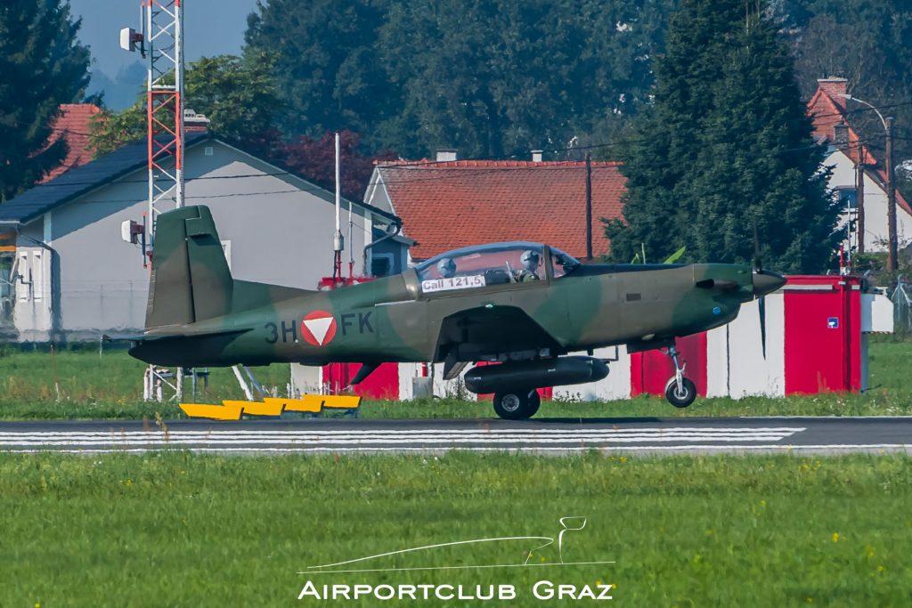 Bundesheer Pilatus PC-7 3H-FK