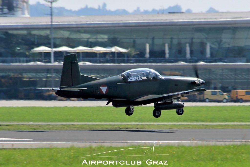 Bundesheer Pilatus PC-7 3H-FO