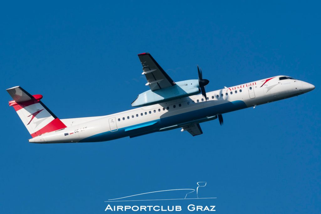 Austrian Airlines Dash 8-402 OE-LGF