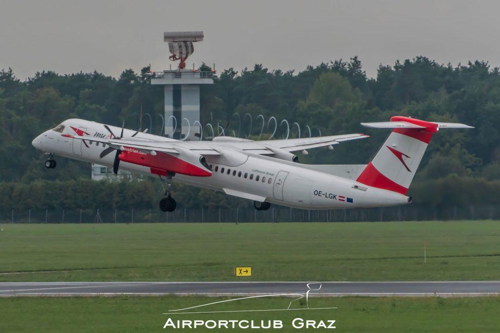 Austrian Airlines Dash 8-402 OE-LGK