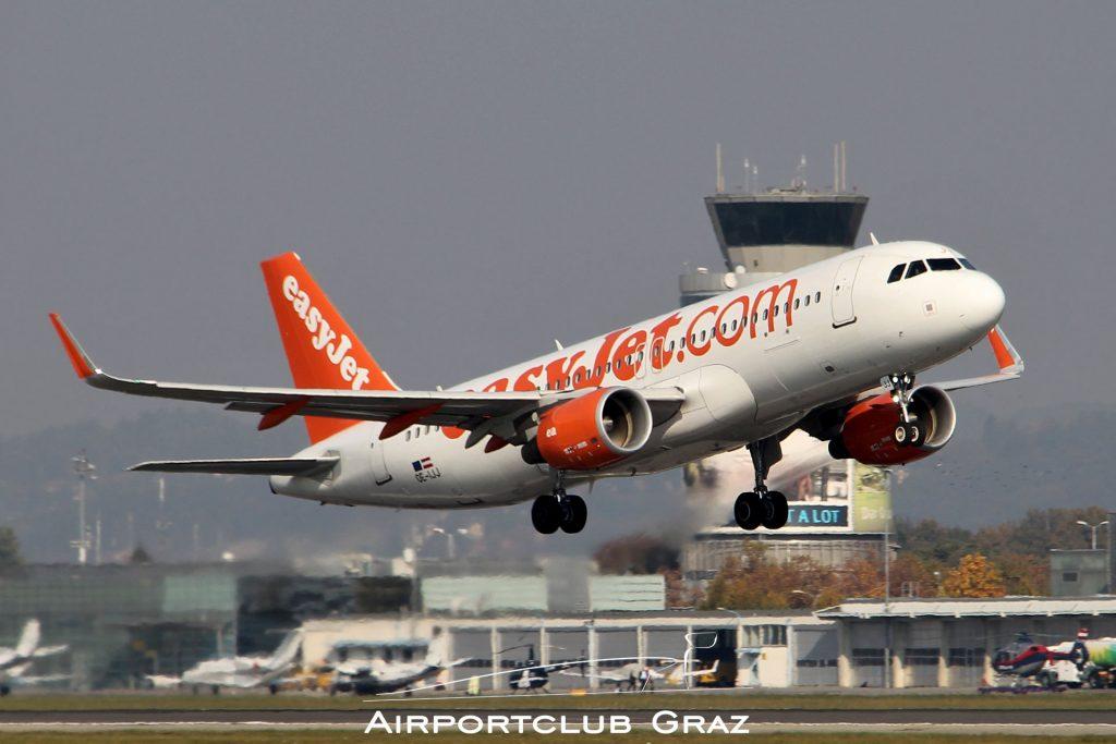 easyJet Airbus 320-214 OE-IJJ