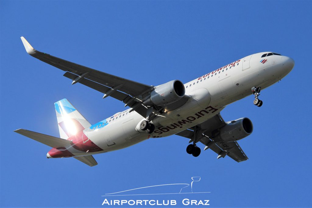 Eurowings Airbus 320-214 OE-IQB