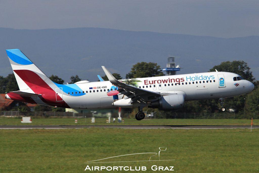 Eurowings Airbus 320-214 OE-IQD