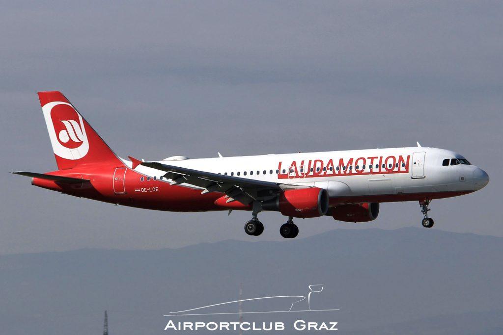 Laudamotion Airbus 320-214 OE-LOE