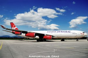 Virgin Atlantic Airbus 340-313X G-VAIR
