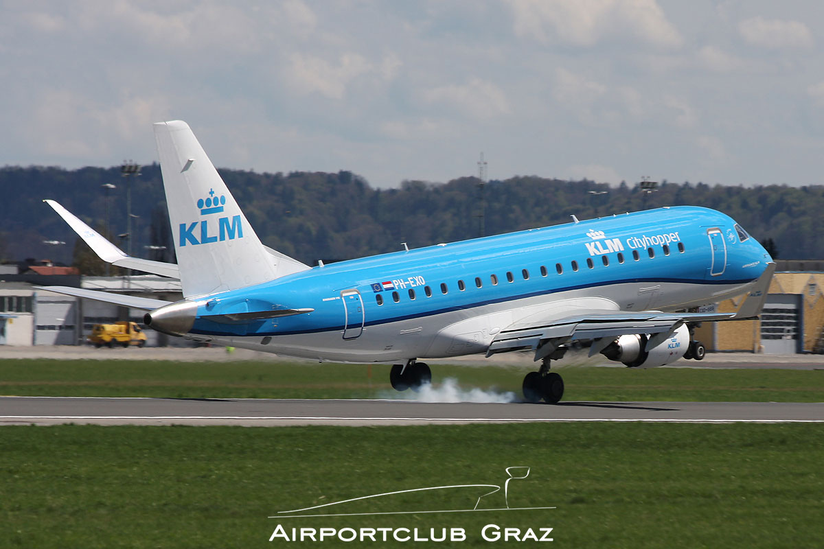 KLM Cityhopper Embraer 175 PH-EXO