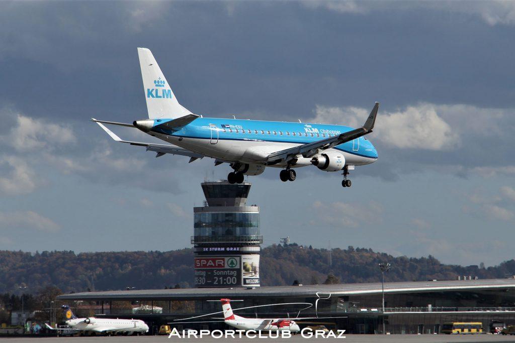 KLM Cityhopper Embraer 175 PH-EXU