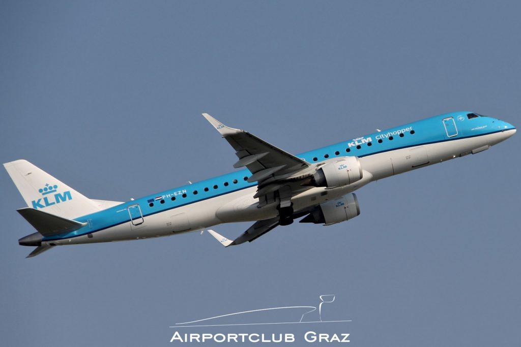 KLM Cityhopper Embraer 190 PH-EZN